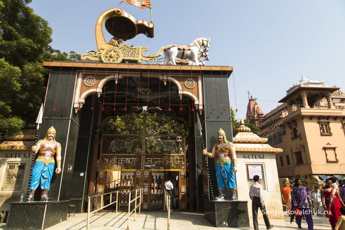 Матхура, штат Уттар-Прадеш, Индия