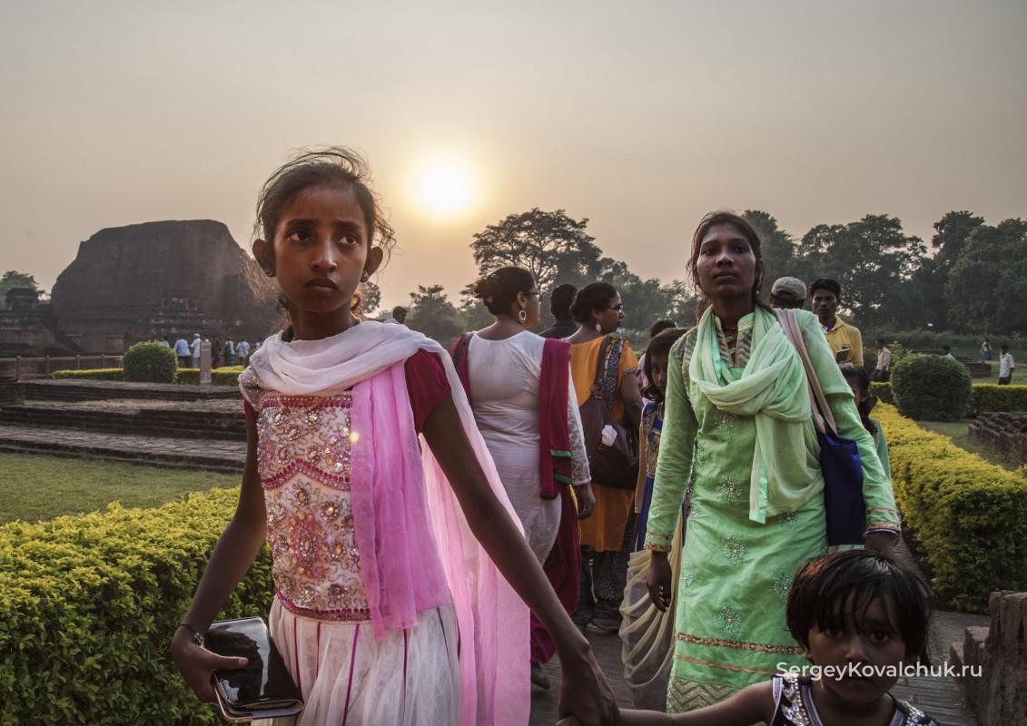 Наланда, штат Бихар, Индия